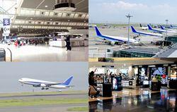 空港の写真