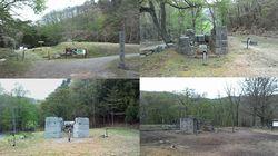 橋野高炉跡の写真