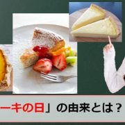 チーズケーキの日のアイキャッチ画像