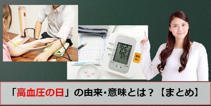 高血圧の日(世界高血圧デー)のアイキャッチ画像